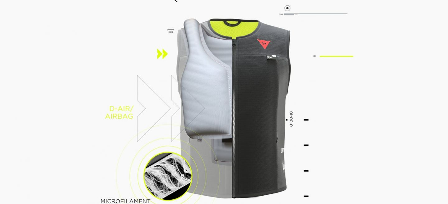 Dainese Smart Jackt Airbad Dm 2