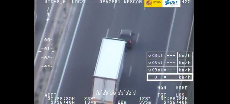 Dgt Video Acoso Camion