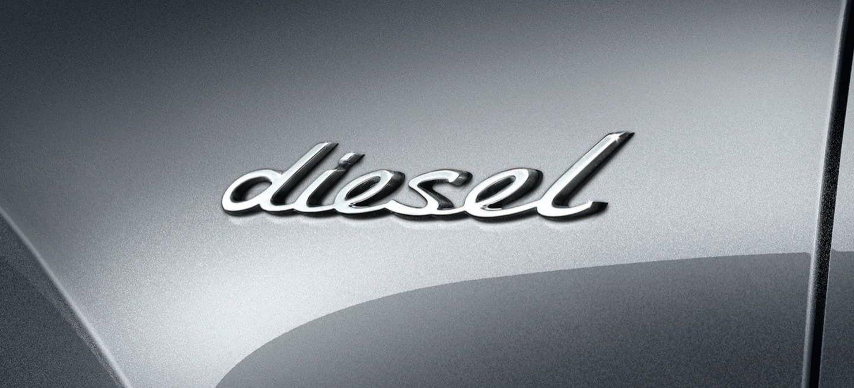 Diesel Emblema Porsche