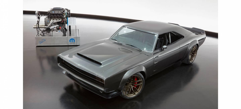 Dodge Super Charger 1968 03 Motor 1000 Cv