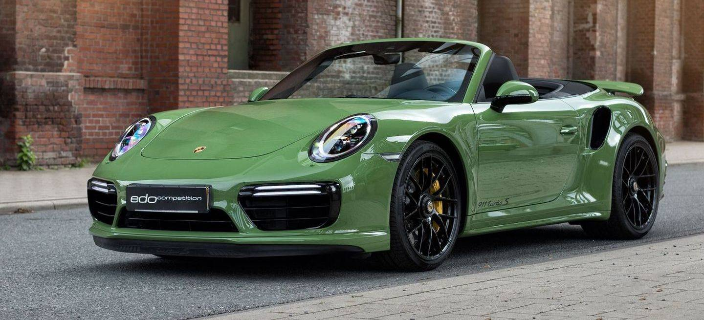 Edo Competition 911 Turbo S P