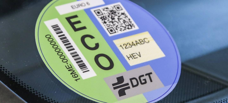 Etiqueta Dgt Eco 0718 01