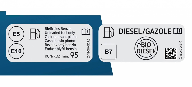 Etiquetado Combustible 12