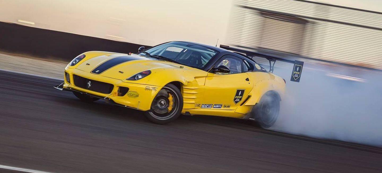 Ferrari 599 Drifting P