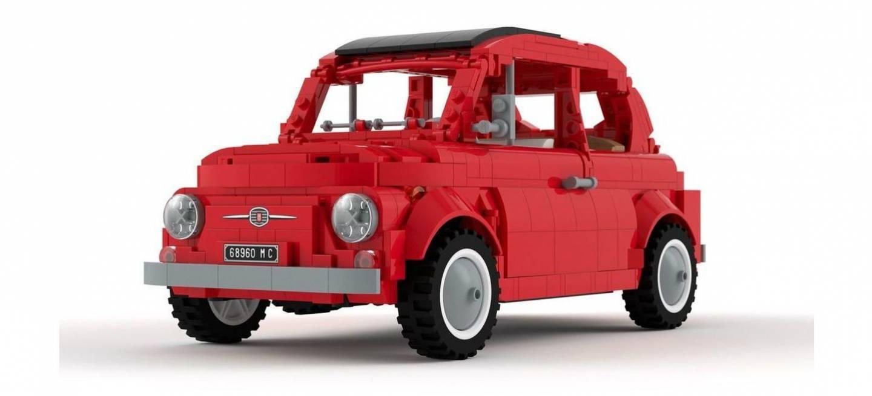 Fiat 500 Lego P