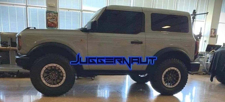 Filtracion Ford Bronco 2020 P