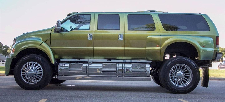 Ford F650 Precio >> Se Te Queda Pequeno Tu Mercedes Amg G 63 6 6 Prueba Con Este Suv