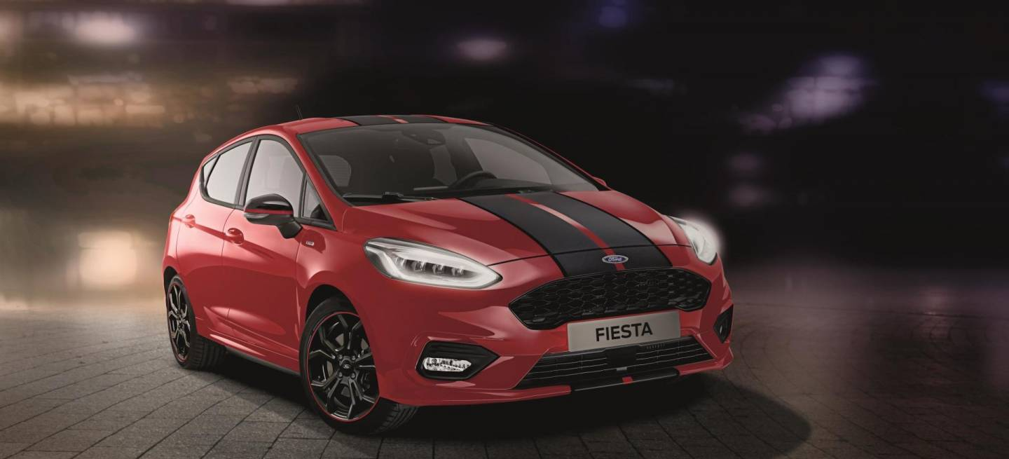 Ford Fiesta Red Black 01