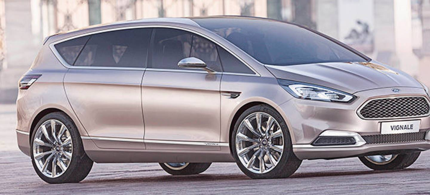 ford s max vignale concept el segundo modelo de la gama vignale de ford ser este monovolumen. Black Bedroom Furniture Sets. Home Design Ideas