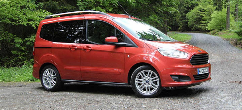 Ford Tourneo Courier Toma De Contacto Entre Monovolumen Y