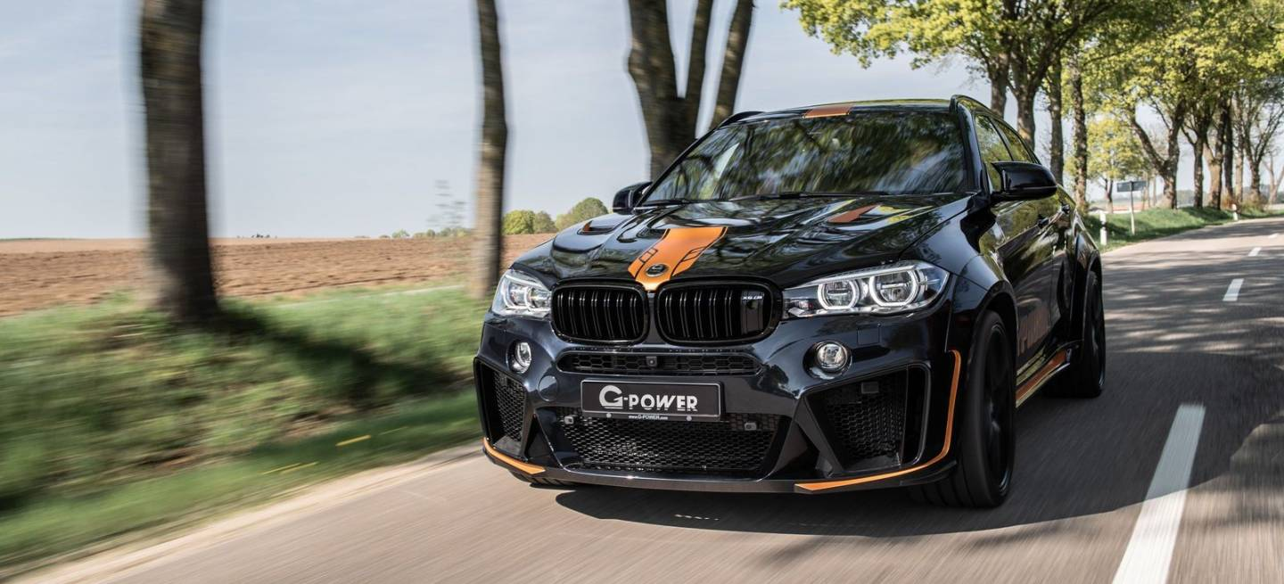 G Power Bmw X6m Typhoon 1