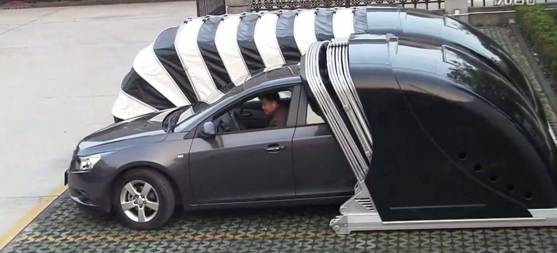 Un garaje plegable para que tu coche no sufra en la calle - Garaje de coches ...