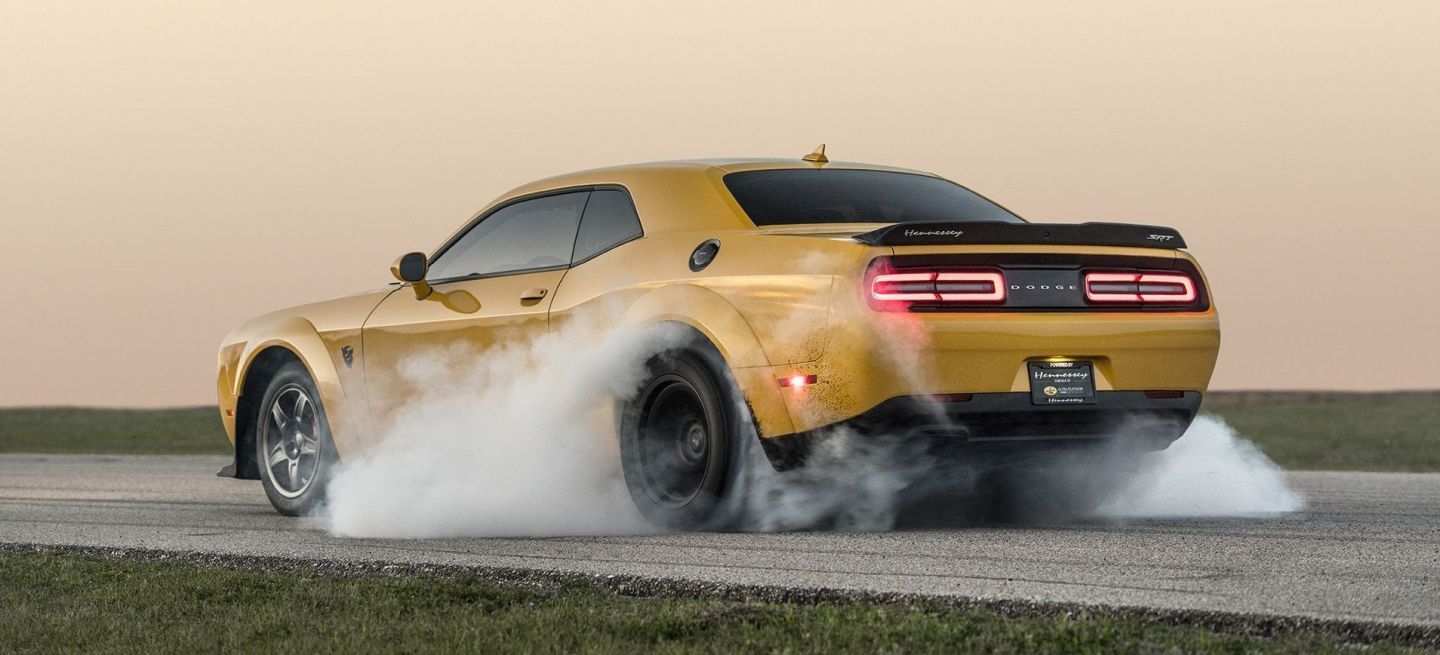 Hennessey Hpe1400 Dodge Demon P