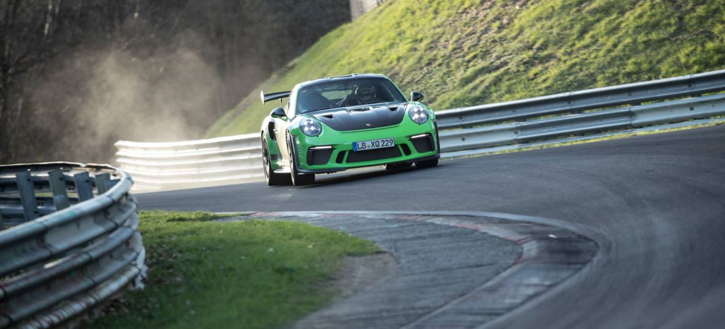 High 911 Gt3 Rs Nurburgring Nordschleife 2018 Porsche Ag