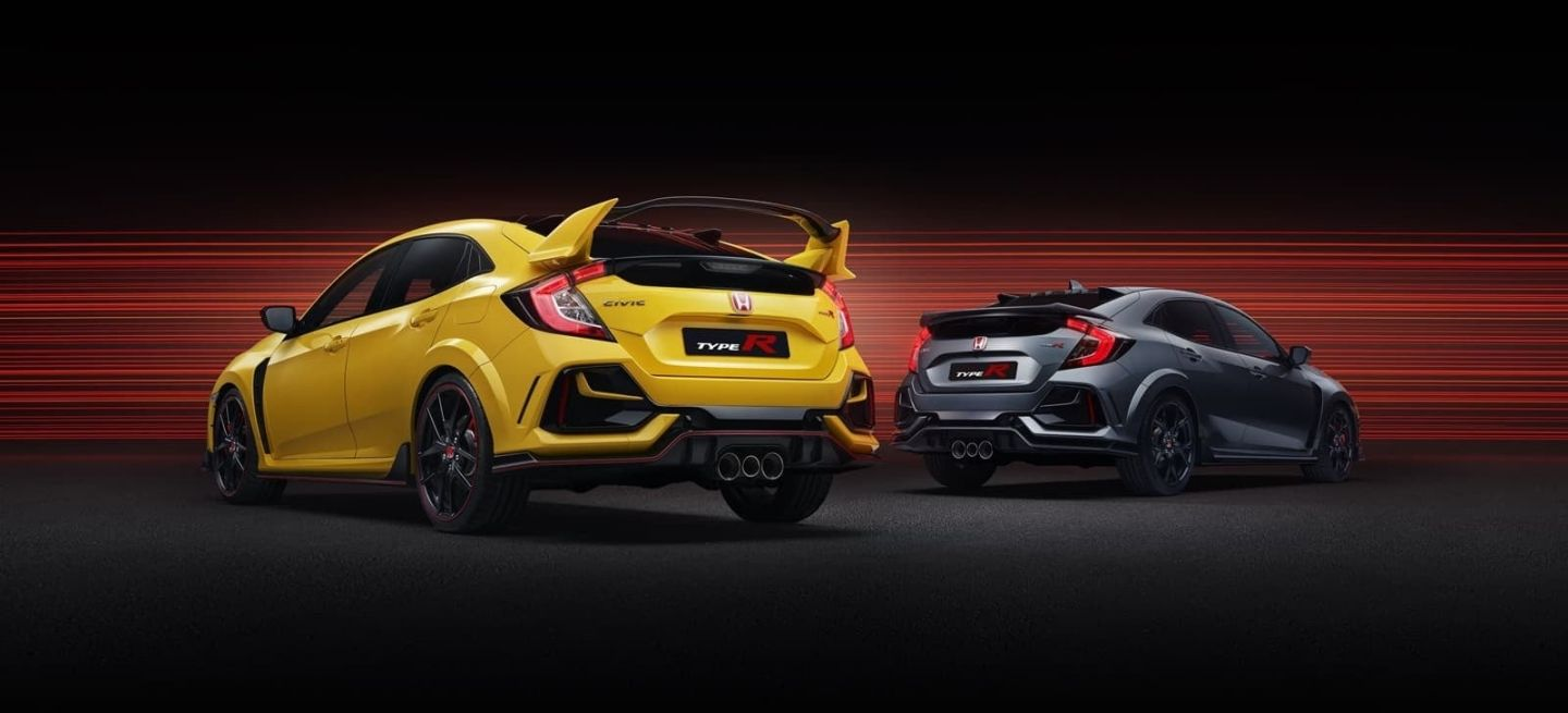 2020 Civic Type R Range Type R Limited Edition & Type R Sport Line