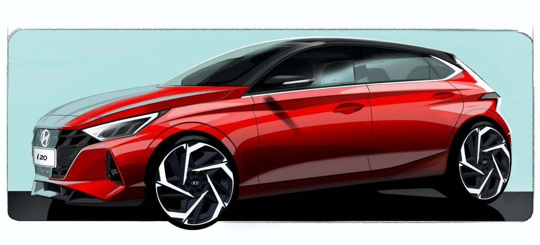 Hyundai I20 Boceto 2020 1