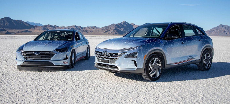 Hyundai Nexo Sonata Bonneville P