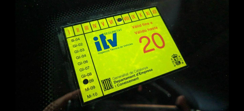 Itv Pegatina V 19
