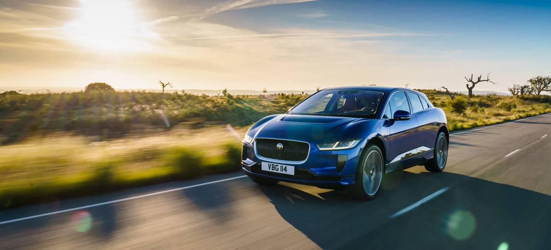 Jaguar I Pace 2019 Azul Exterior Frontal
