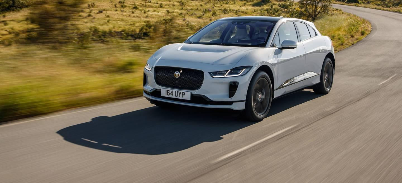 Jaguar I Pace 2019 Blanco Exterior Frontal