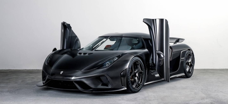 Koenigsegg Regera Naked Carbon Portada
