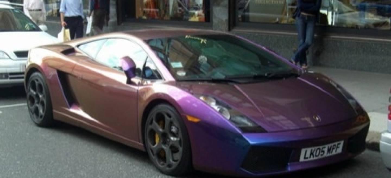 Lamborghini gallardo con pintura perlada distinto ngulo - Pintura color vison ...