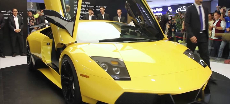 Lamborghini Murcielago Sv Replica Iran Motor Hyundai