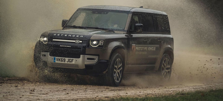 Land Rover Defender Anticipo V8