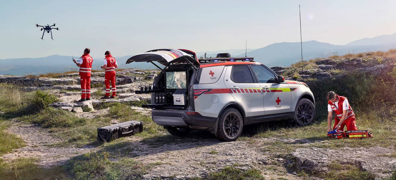 Land Rover Discovery Life Saving 2018 15
