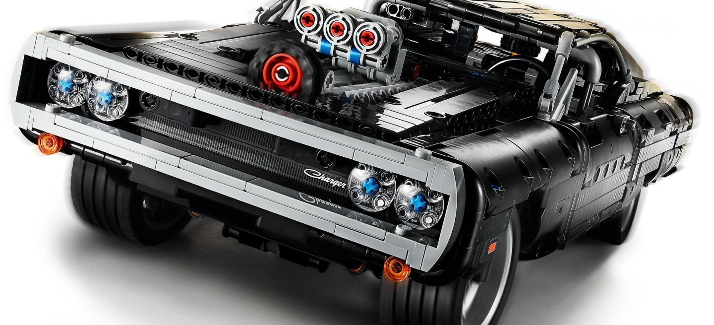 Lego Fast And Furious Dodge Charger 4