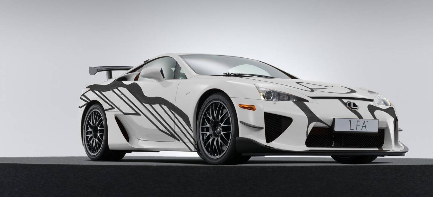 Lexus Lfa Art Car P