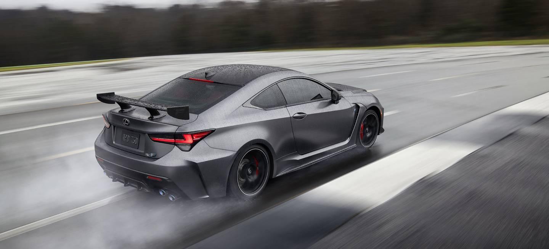 Lexus Rc F 2019 Track Edition Gris 04 Circuito