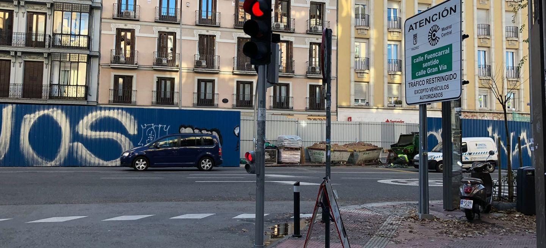 Limite 30 Kmh Velocidad Madrid Central