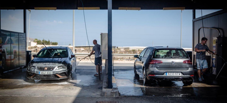 Limpiar Coche Seat Leon Cupra Volkswagen Golf R
