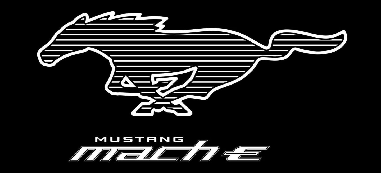 Logotipo Ford Mustang Mach E P