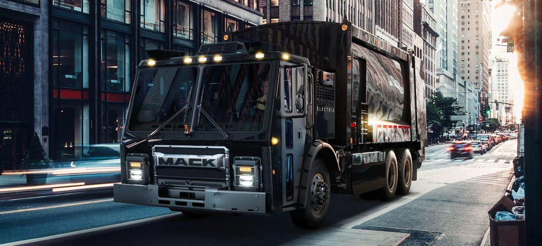Mack Lr Camion Electrico P