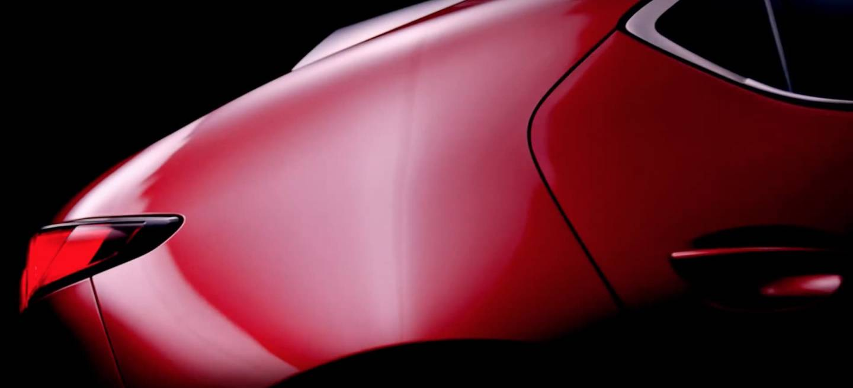Mazda 3 2019 Teaser 01