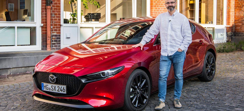 Mazda 3 Skyactiv X Portada
