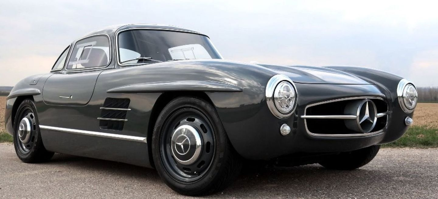 Mercedes 300 Sl Replica P