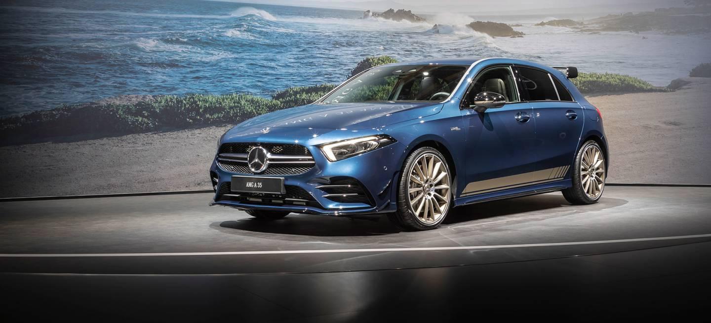 Mercedes Amg A35 2018 Azul 08