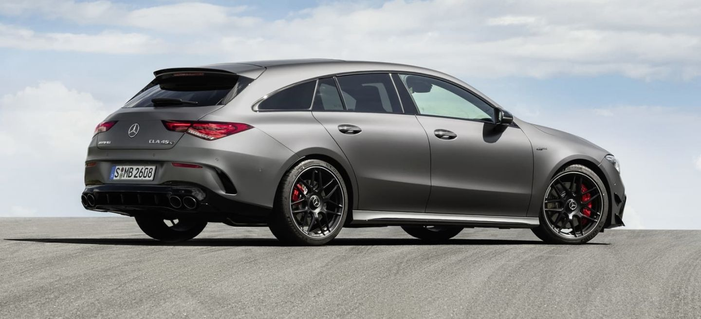 Mercedes Amg Cla 45 Shooting Brake 0719 019