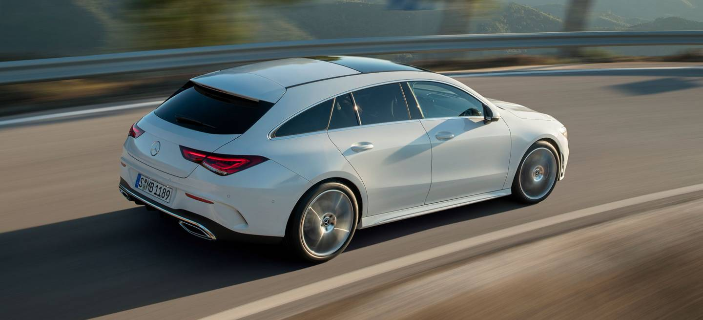 Mercedes Cla Shooting Brake 2019 Exterior Blanco 20