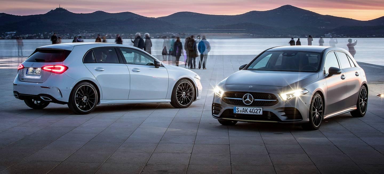 Mercedes Clase A 2019 Exterior Blanco Gris 2
