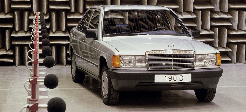 Mercedes Clase C W201 Diesel Antiguo 190d 01