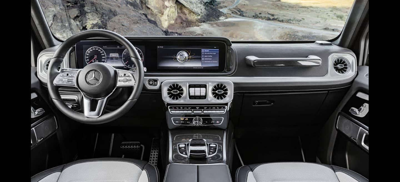 El nuevo mercedes clase g quiere ser moderno y parecerlo for Interior mercedes clase c