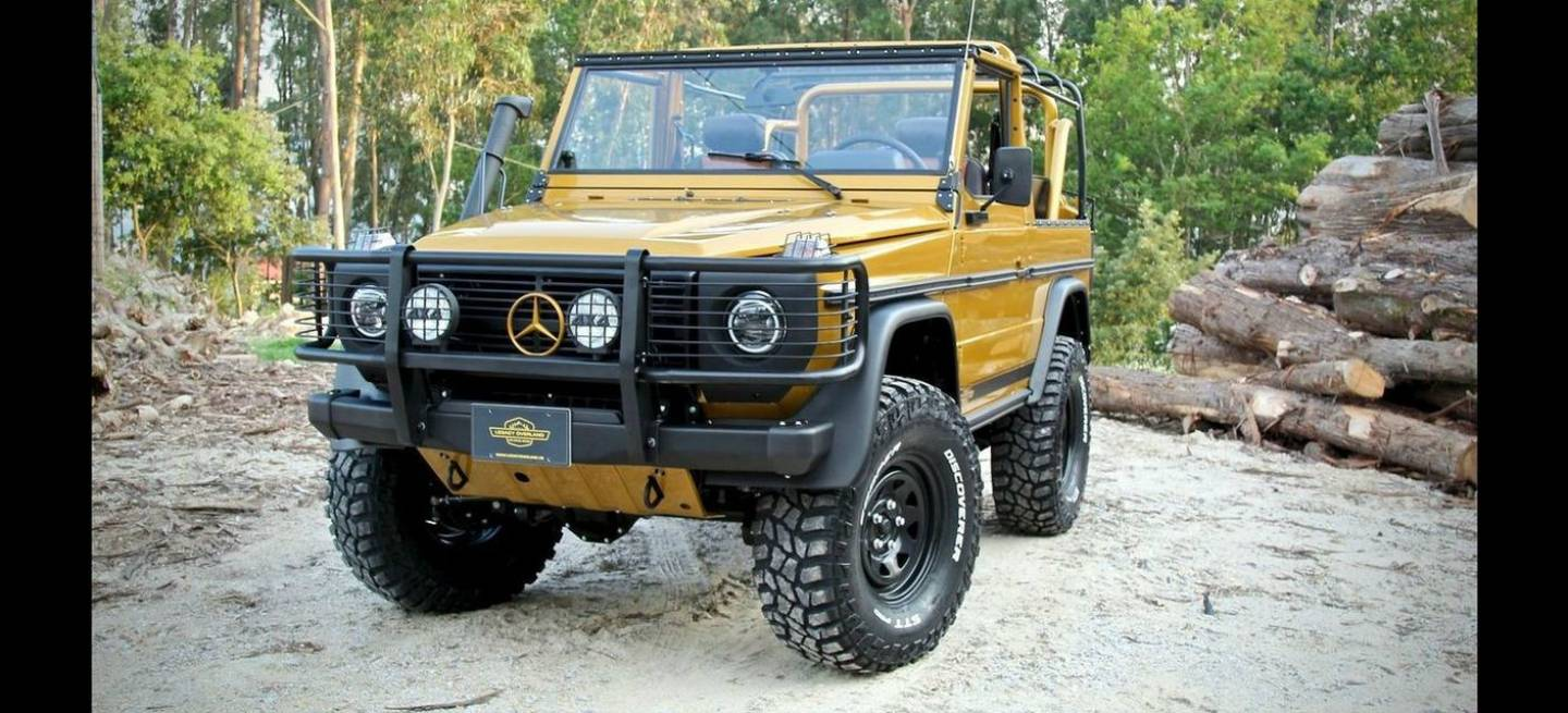 Mercedes Clase G Wolf Legacy P