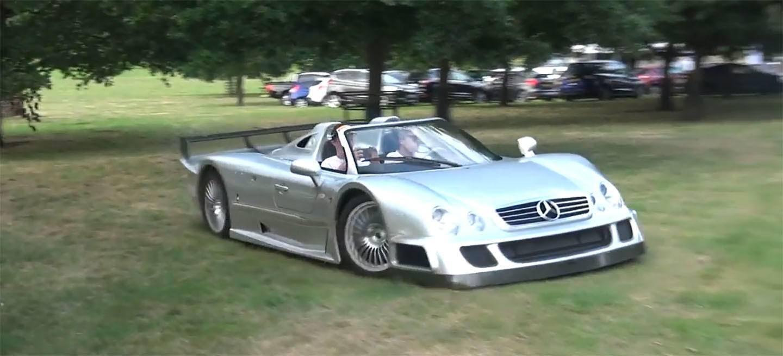 Este Mercedes Clk Gtr Roadster Se Atreve Incluso Con Un