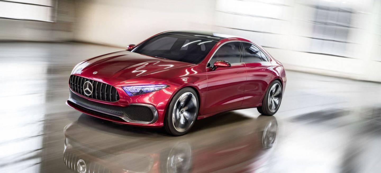 Mercedes Concept A Sedan Ante Ustedes El Futuro De Los