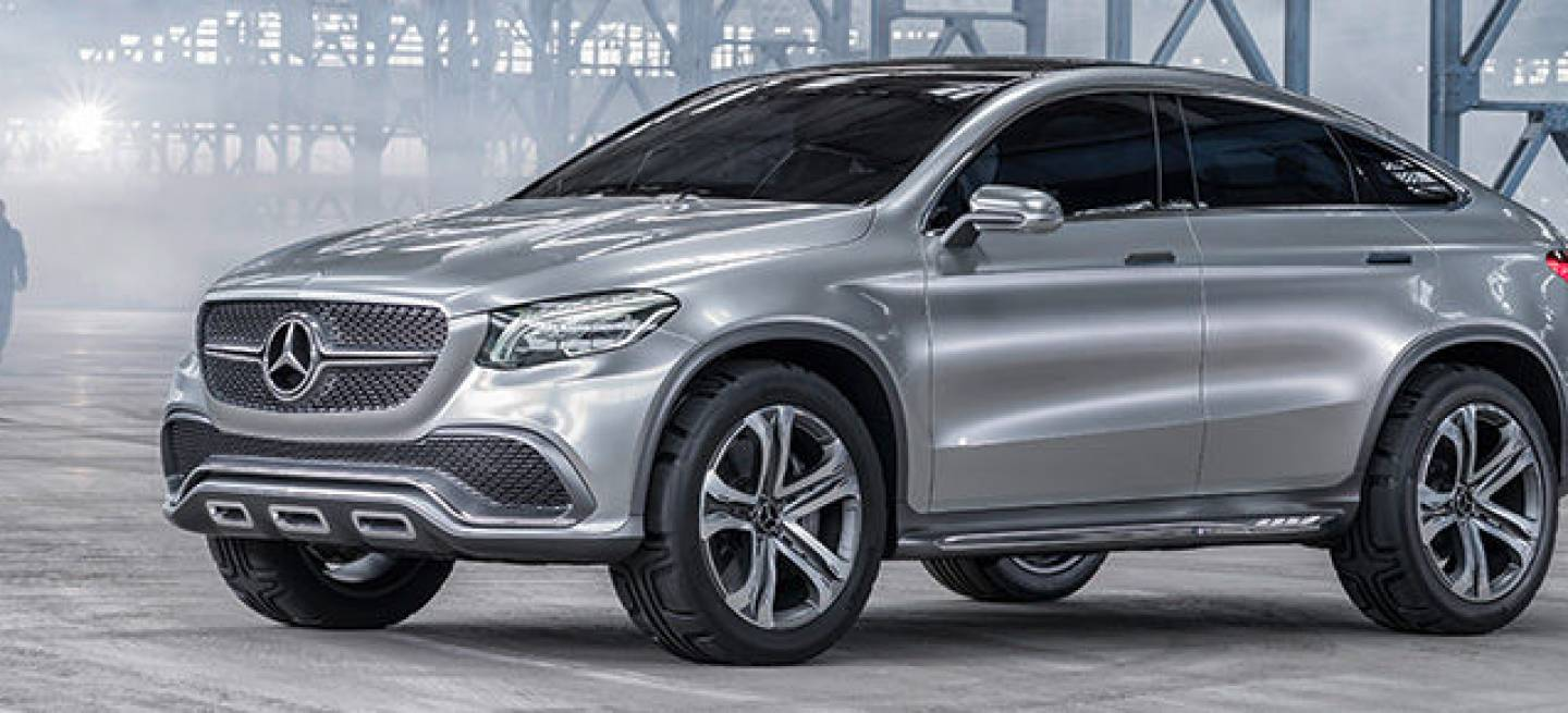 Mercedes concept coup suv m s temprano que tarde for Mercedes benz deportivo