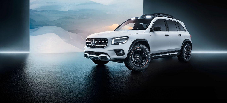 Mercedes Concept Glb 2019 10